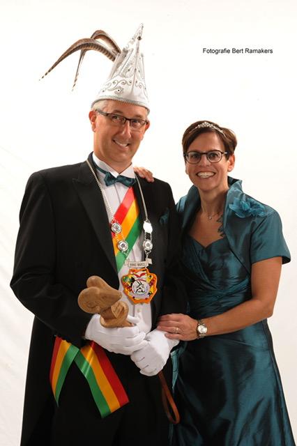 2018 Prins Marco en Prinses Marjo